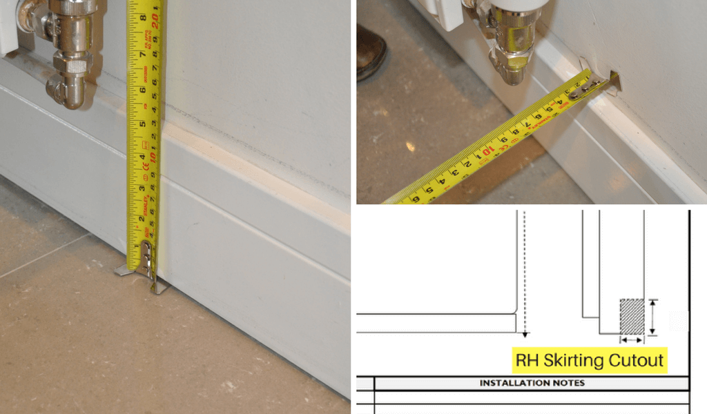 Take Care When Measuring For Skirting Cutouts
