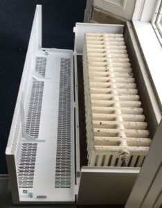 Strengthening Struts | LST Radiator Covers | Walton Hall Academy | Contour Heating